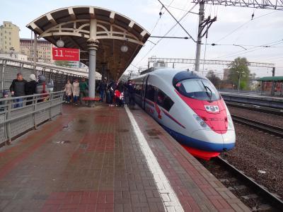 初めてロシア&ロシア⇔フィンランド列車旅③