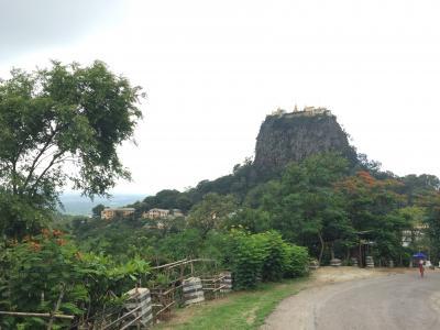 バガン ポッパ山