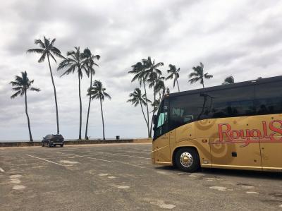 2018,JALで行く!アラフィフ女子旅またまたハワイ!2日目 ノースショアとロイヤルハワイアン・マイタイバー編