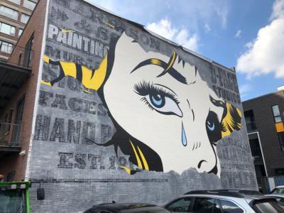 芸術の街:モントリオールのストリートアートレポート(1)