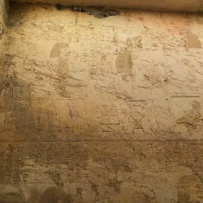 エジプト古代文明への旅 ④(ルクソール西岸地区・貴族の墓)