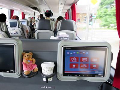 癒しを求めてリトアニア&ラトビアへ行ったはずが(9)ヴィリニュスからリガへ Lux Expressバスはエコノミーでも快適