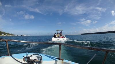続そこにあるのになかなか行けない水納島 さてどうなるか の2018年多良間島の夏休み(3日目多良間島集団行動水納島チャレンジ編)