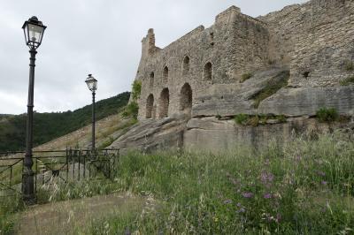 美しき南イタリア旅行♪ Vol.56(第3日)☆Cleto:美しき山村「クレート」廃墟の美しい古城♪