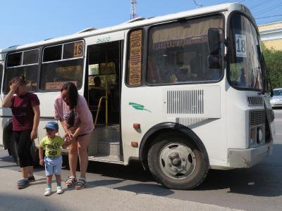 2018年シベリア・サハ共和国ヤクーツクへの旅(4)移動編その1:市内バスと郊外行きの乗り合いシャトルタクシー