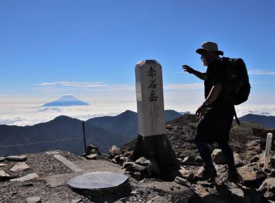 南アルプス・赤石岳で高山植物調査  俺の夏を返せ~・・・!