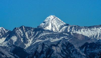 ゴンドラから ロッキー山脈 全体が見渡せ 魅了されます!!