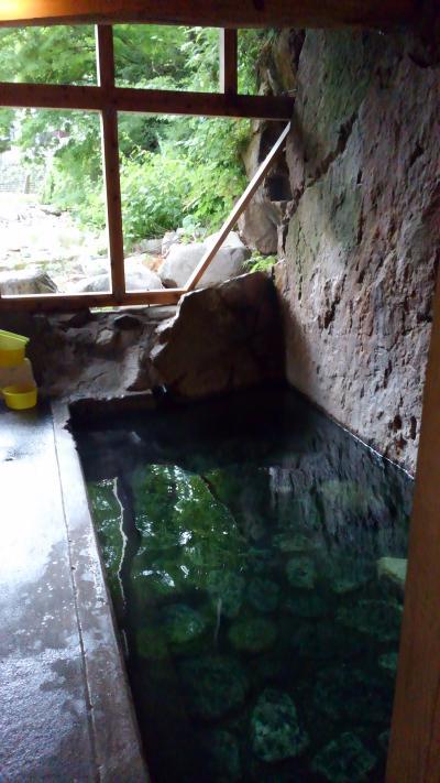 バイク神社と南会津木賊温泉ツーが台風で中止。私は民宿予約していたのでお泊り。
