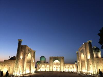 ウズベキスタン-サマルカンド