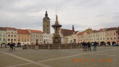 春のチェコとウィーンを巡る(チェコ編) 17 7~8日目① チェスケー・ブディェヨヴィツェ
