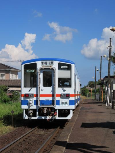 牛久大仏と関東鉄道竜ヶ崎線