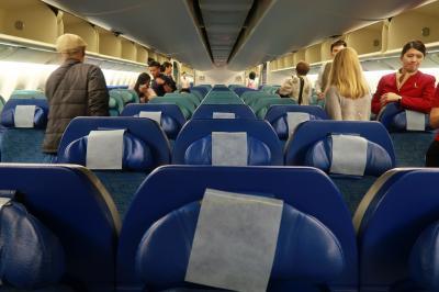 端午節バンコク1★娘8ヶ月2度目のタイDay1 キャセイパシフィック航空利用 香港からバンコクへ ~Holiday Inn Express Bangkok Sathorn~