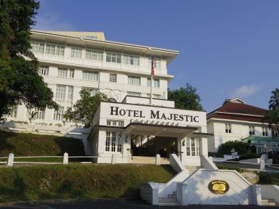 3・5歳児連れ、KLとイポー3泊5日旅行:出発~The Majestic Hotel KL編
