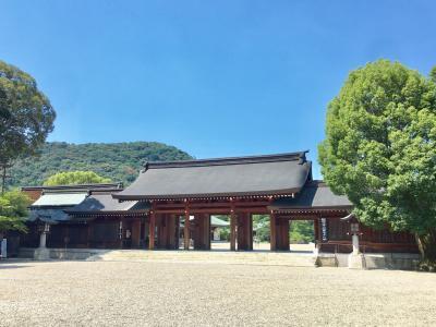 盛夏の橿原神宮