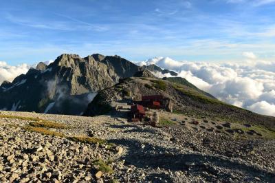 【北アルプス】上高地~槍ヶ岳~双六岳 夜行バスで行くテント泊登山(1日目)