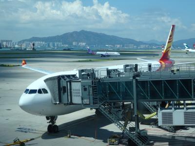 香港航空で香港経由メルボルン搭乗記 往路HX610とVA68、復路はVA69とHX611 (2018年7月)