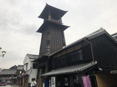小江戸川越一人旅 歴史ある寺院や街並みを歩く