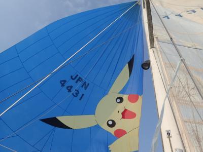 台風12号に翻弄された 三島カップ・ヨットレース 最後までオーマイゴッド!