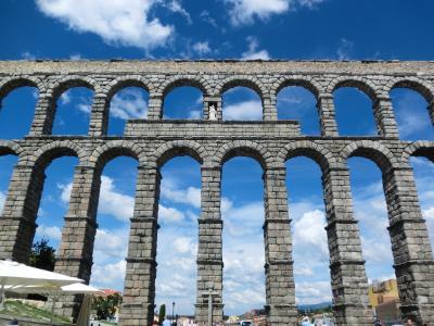 シニア夫婦のスペイン・ポルトガル周遊旅行(6)世界遺産都市セゴビアの水道橋