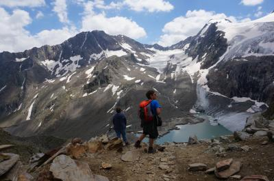 2018 初チロルハイキング! オーストリア列車の旅11日間♪④「FernauからBeiljoch越えGrabaalmハイキング」