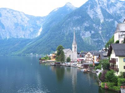 3世代でサウンドオブミュージックゆかりの地ザルツカンマーグート&ウィーン(5)美しい湖畔の街ハルシュタット散策