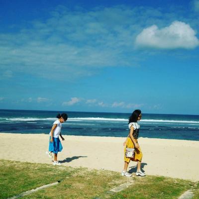 夏休み・家族旅行inバリ島② 朝からプールで遊ぶぞ!そして初のキャメルライド