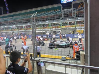 シンガポールでF1 レース観戦♪