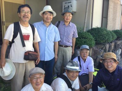 小豆島で同窓会をしました