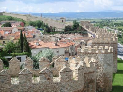 シニア夫婦のスペイン・ポルトガル周遊旅行(8)アビラで至福の城壁三昧