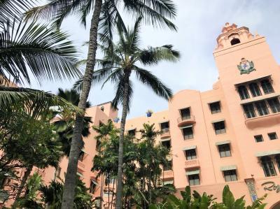 2018,JALで行く!アラフィフ女子旅またまたハワイ 3日目 ハワイ大学BOOK STORE・ワイキキビーチ・とっても可愛いロイヤルハワイアン編