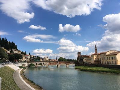 ベローナ、中世の景色に包まれて1週間