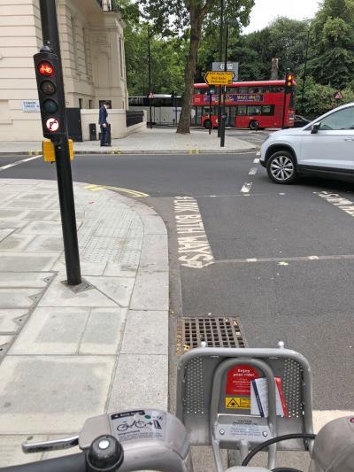 イギリス・ロンドンの旅 2018年7月 その2 シェア自転車でハイドパークなど