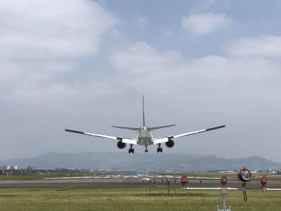 こんな近くで着陸機が。。。