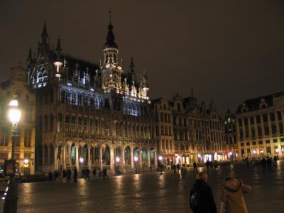 ブリュッセル出張