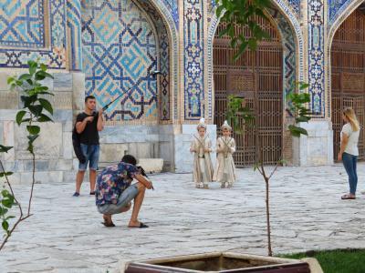 2018年ウズベキスタン旅行・サマルカンド編②