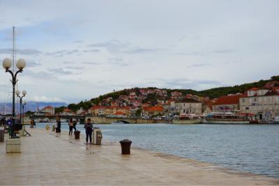 2017 スロベニア・クロアチア旅行⑥白い石畳の古都 トロギール編