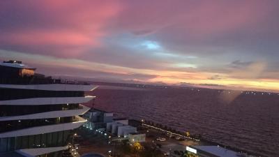 Malaysia Airlinesで行くマニラ(MNL) 『マニラ湾の夕日を望む』