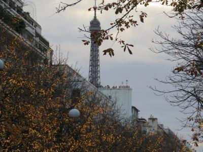 パリへ。ハルキとかおるの一週間の旅 ~往路~
