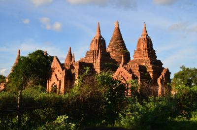 バガン・ヤンゴンの3泊5日の旅 2日目「バガン」