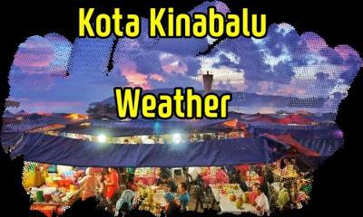 コタキナバル9月、10月の天気。月別気温