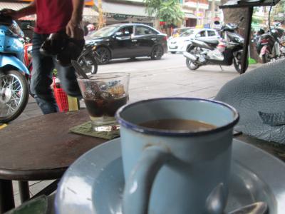 2016秋ベトナムその4街歩き二日目カフェ
