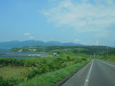 厚田の天地と日本海(2018夏・北海道の旅③)
