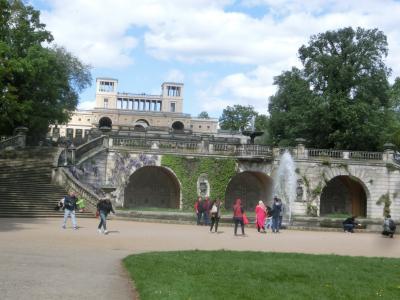 2018GW ドイツ17:ポツダム サンスーシ庭園、ローマ風浴場、オランジェリー