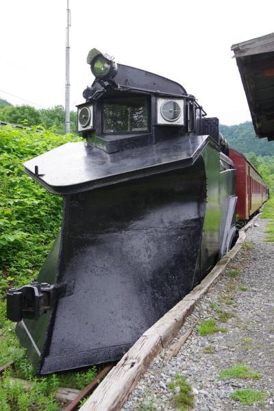 南大夕張駅跡の保存車輛6輌と日高のSL  2018年北海道(2)