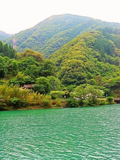 九州12   特急「かわせみ やませみ」 球磨川に沿って ☆坂本⇒一勝地 車窓風景