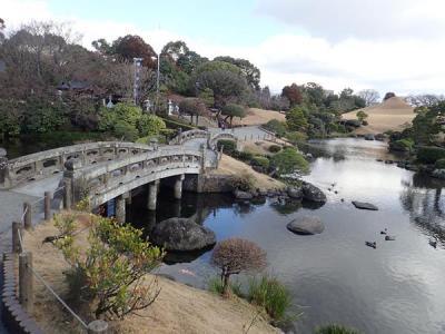 九州縦断旅(23)熊本ラーメンと水前寺公園(成趣園)