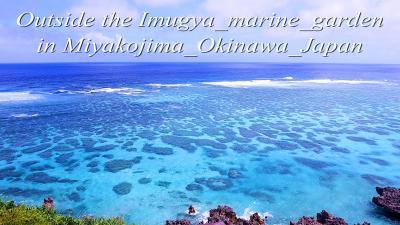 イムギャーマリンガーデン沖のサンゴ礁でシュノーケリング in 宮古島 by Rinkarton