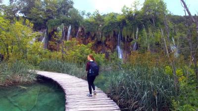 プリトヴィツェ湖群自然公園を歩いてみた