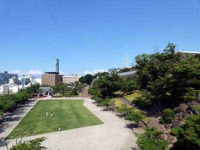 妻の親兄弟と飲む甲府1泊 朝の甲府の散歩道 舞鶴城公園その1
