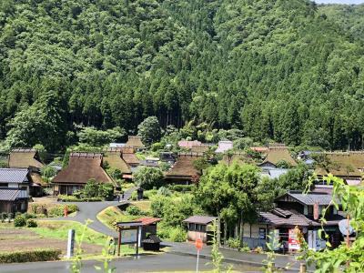 美山かやぶきの里~福知山城